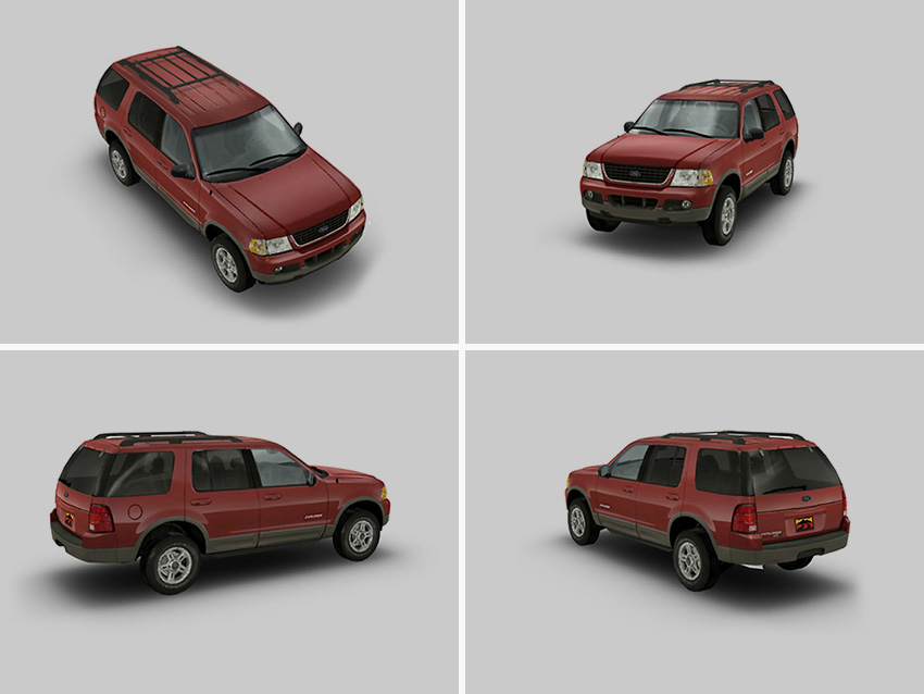 3d Models For Display In Viewpoint Media Player 3 D Web